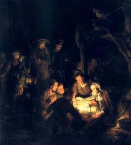 Adoration des bergers (Rembrandt)