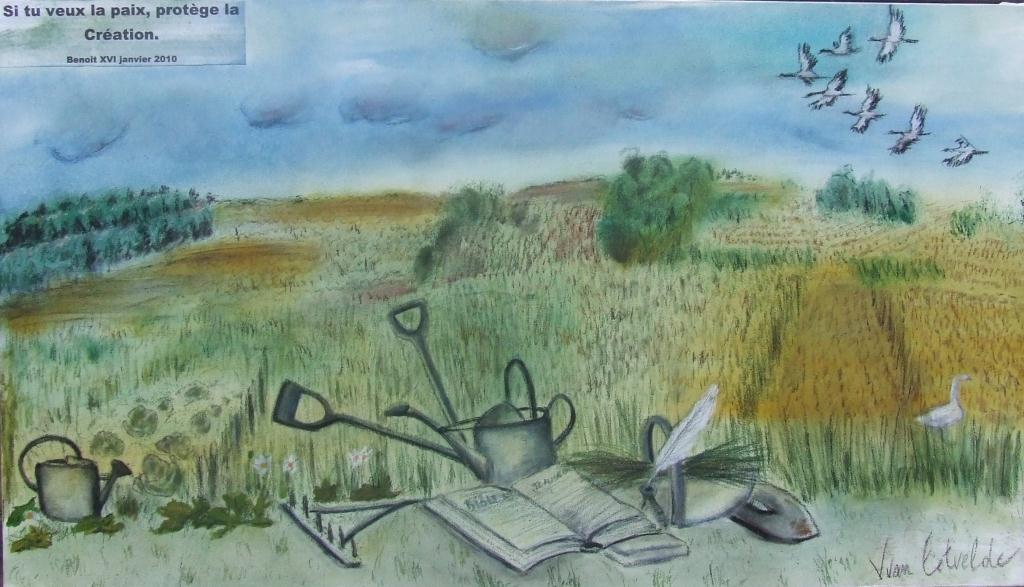 Si tu veux la paix, protège la création (Benoit XVI, 1er janvier 2010)