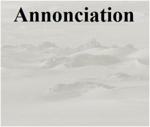 Annonciation (Lc 1,26-38)