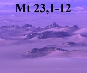 Mt 23,1-12