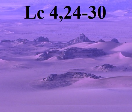Lc 4,24-30
