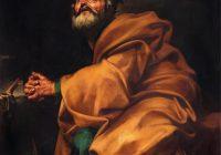 « Saint Pierre pénitent » de José de Ribera, 1612-1613, NY Metropolitan Museum